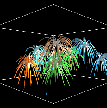 Fireworks 3D preview image