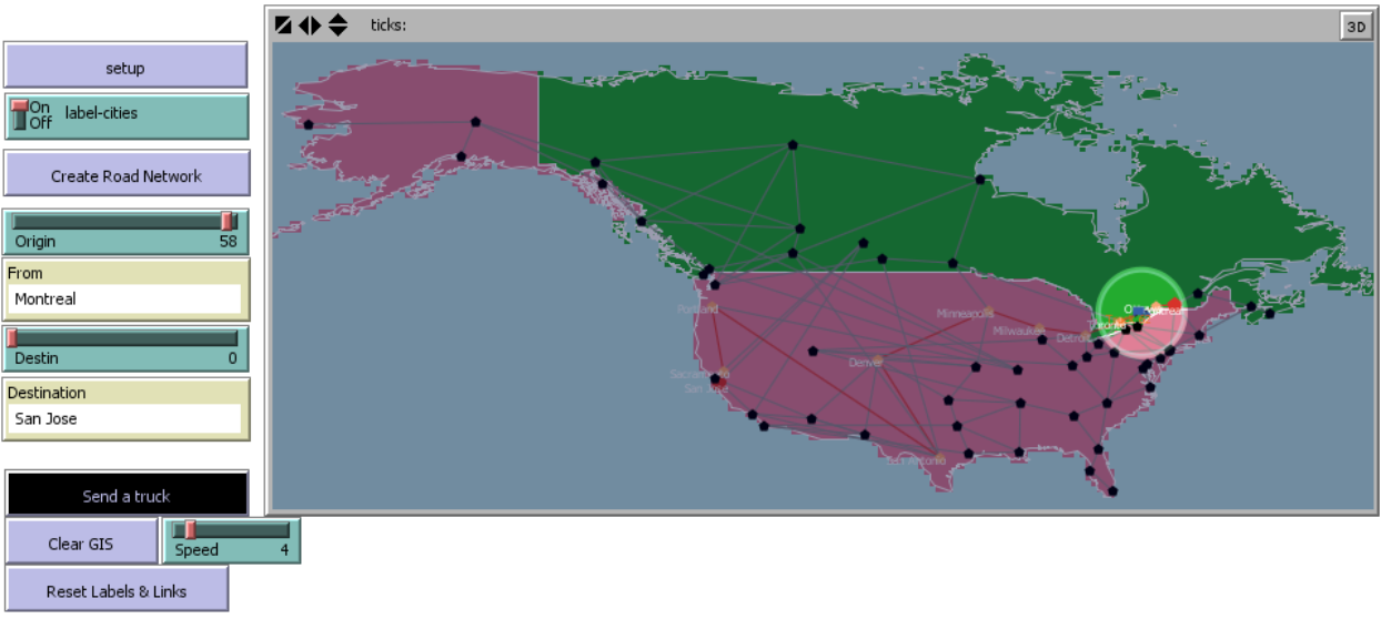 Truck routing preview image