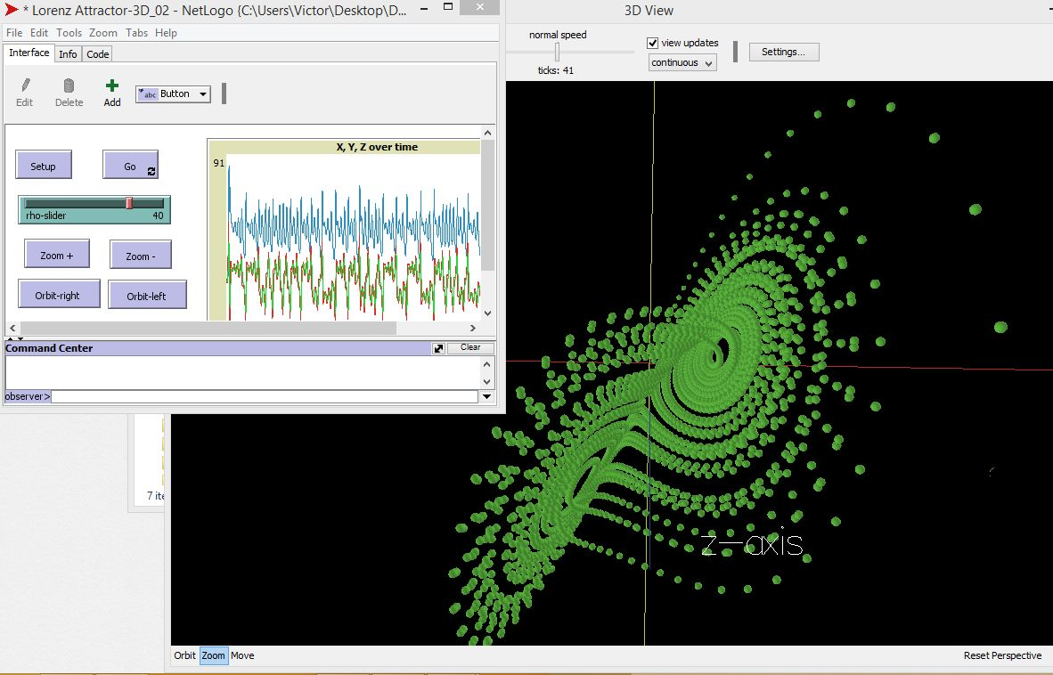 Lorenz Attractor 3D preview image